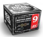 BRITISH-ARMY-LATE-WWII-VEHICLES-SET-3x10ml-akryl