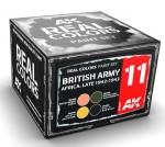 BRISTISH-ARMY-AFRICA-LATE-1942-1943-SET-4x10ml-akryl