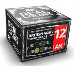 BRISTISH-ARMY-TUNISIASICILY-and-ITALY-1942-1943-SET-4x10ml-akryl