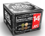 WWII-U-S-ARMY-DISRUPTIVE-CAMO-PAINTS-SET-4x10ml-akryl