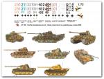 1-72-9-verschiedene-Panthermarkierungen