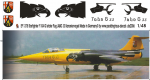 1-48-F-104-G-Starfighter-JABO-33-Kanarienvogel-letzter-Flug