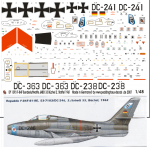 1-48-F-84-F-Bundesluftwaffe-JABO-33-Buchel-2-Staffel-1961