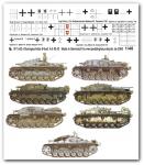 1-48-Verschiedene-Stug-III-A-E