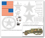 1-6-M3-A1-Halbkette-der-1-Armd-Div-11-th-US-Inf-Div-A-Komapnie-Algerien