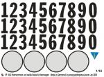 1-18-Startnummern-Rennwagen