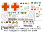 1-48-Canadische-Panzer-und-Fahrzeuge-in-der-Normandie-No-1