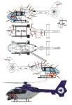 1-14-T-Rex-450-EC-135-Niederlandischer-Polizeihubschrauber-PH-PXE