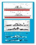 1-1250-US-Trager-USS-Saratoga-CV-3-1943-with-hull-camoflage
