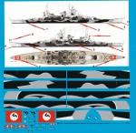 1-200-German-Battleship-Scharnhorst-with-body-camouflage-July-1943