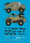 1-72-Morris-Gun-Tractor-Africa-and-Normandy-with-Mickymouse-camouflage