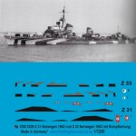 1-1250-german-destroyers-DKM-Z-31-and-Z-33-Norway-1943-with-body-camuflage