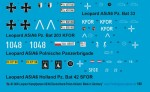 1-48-4-Leopard-Battletanks-A5-A6-Germany-Polen-Netherlands