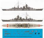 1-1250-Schwerer-Kreuzer-Prinz-Eugen-with-Body-Camoflage-22-Februar-1942-in-Atlantic