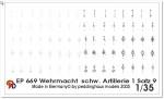 1-35-Taktische-Zeichen-Wehrmacht-schw-Artillerie-1-Satz-9