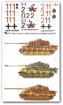 1-35-3-verschiedene-Tiger-II-Satz-No-1
