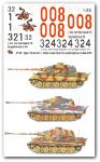 1-35-3-verschiedene-Tiger-II-Satz-No-2