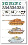 1-35-3-verschiedene-Tiger-II-Satz-No-3