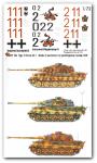1-72-3-verschiedene-Tiger-II-Satz-No-1