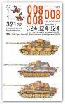 1-72-3-verschiedene-Tiger-II-Satz-No-2