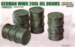1-35-WWII-German-200L-Oil-Drums