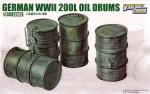 1-35-WWII-German-200L-Oil-Drums