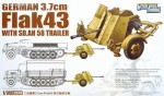 1-35-WWII-German-3-7cm-FlaK43-with-Sd-Ah-58-Trailer