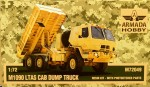 1-72-M1090-LTAS-Cab-Dump-Truck-resin-kit-and-PE