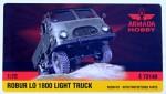 1-72-ROBUR-LO-1800-Light-Truck-resin-kit-w-PE