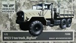 1-72-M923-5ton-truck-BIGFOOT-resin-kit-w-PE