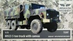 1-72-M923-5ton-truck-with-canvas-resin-kit-w-PE