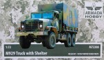 1-72-M929-Truck-w-Shelter-resin-kit-and-PE-parts
