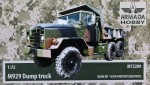 1-72-M929-Dump-Truck-resin-kit-and-PE-parts