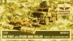 1-72-BIG-FOOT-w-Spark-Mine-Roller-resin-kit-and-PE