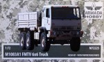 1-72-M1083A1-FMTV-6x6-Truck-resin-kit-and-PE-parts