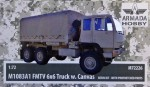 1-72-M1083A1-FMTV-6x6-with-Canvas-resin-kit-and-PE