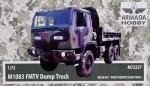 1-72-M1083-FMTV-Dump-Truck-resin-kit-and-PE