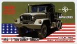 1-72-M51-5-ton-Dump-Truck-resin-kit-w-PE