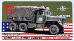 1-72-M817-5-ton-Dump-Truck-w-Canvas-resin-and-PE