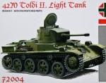 1-72-42M-Toldi-II-Light-Tank-resin-kit