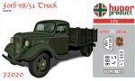 1-72-Ford-V8-51-Truck-resin-kit+decals