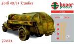 1-72-Ford-V8-51-Tanker-resin-kit+decals