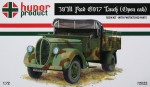 1-72-39M-Ford-5917-Truck-Open-cab-resin-kit