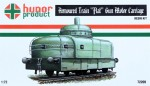 1-72-Armoured-Train-FLAT-Gun-Motor-Carriage-w-PE