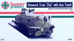 1-72-Armoured-Train-FLAT-w-Gun-Turret-incl-PE