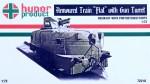 1-72-Armoured-Train-FLAT-w-Gun-Turret-incl-PE