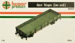 1-72-Open-Wagon-low-wall-resin-kit
