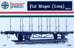 1-72-Flat-Wagon-Long-resin-kit