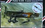 1-72-Fokker-D-XXI-FR-167-w-Reatractable-Land-Gear