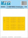 1-48-Mask-for-V-156F-SB2U-Vindicator-SP-HOBBY